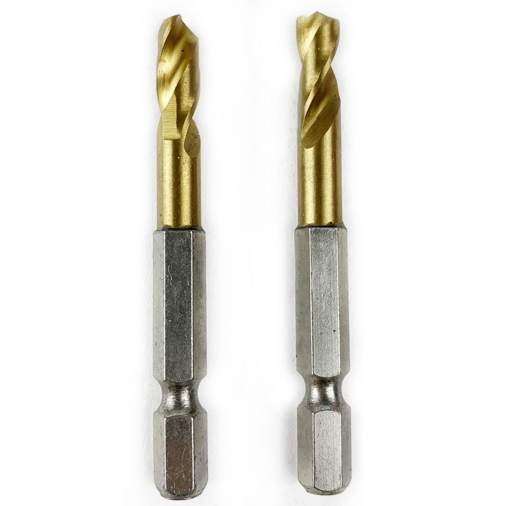 コーナン オリジナル PROACT 2本組ショートドリル6.0mm 鉄工用