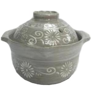 コーナン オリジナル 土鍋 三島 雑炊鍋 KHM05−0403