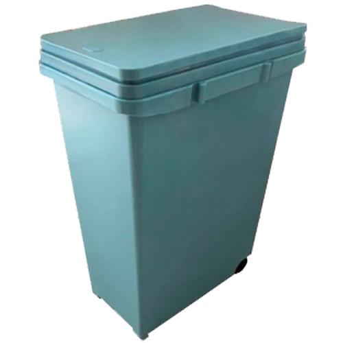 ゴミ箱 分別プッシュペール 20L ブルー