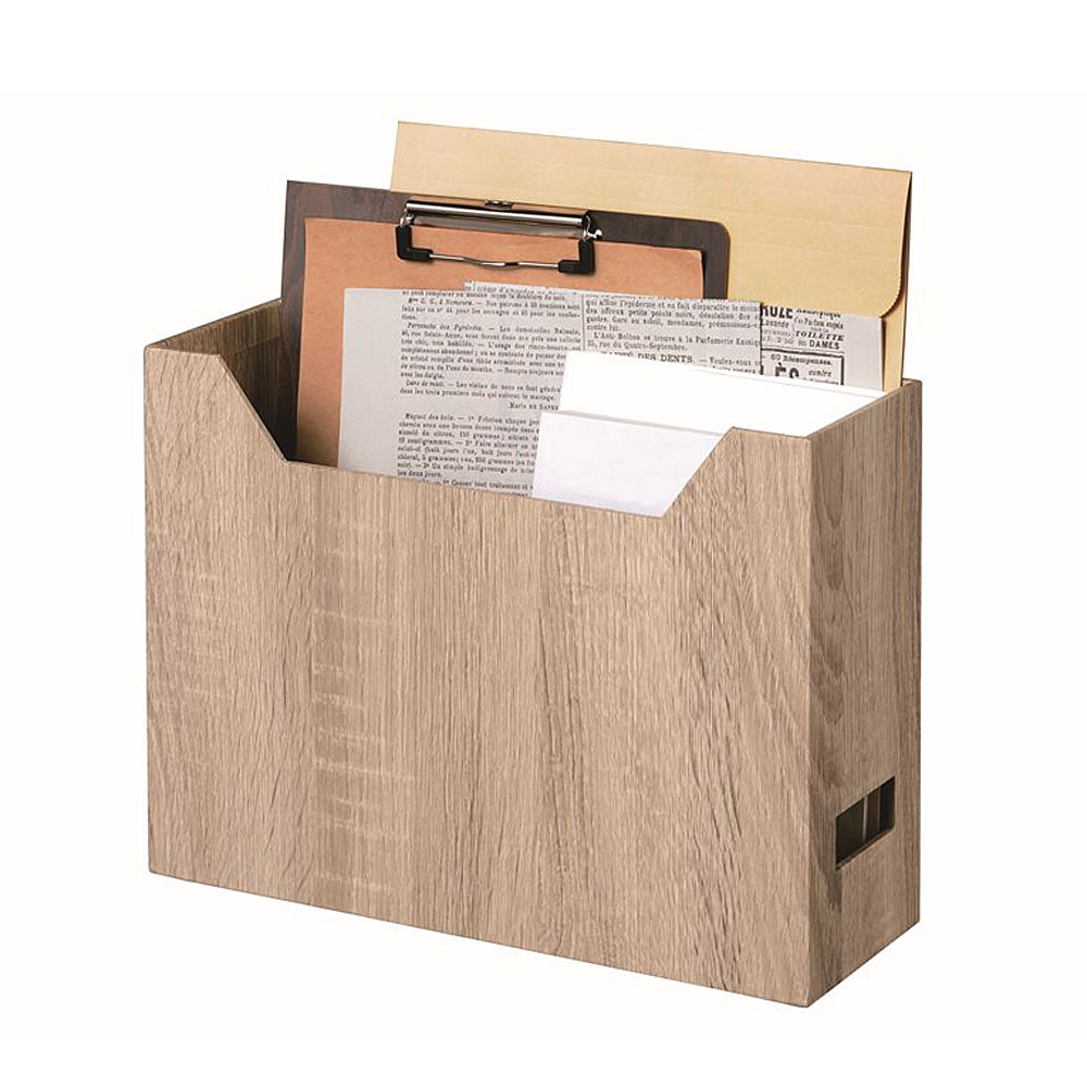木目調ファイルボックス com20180302