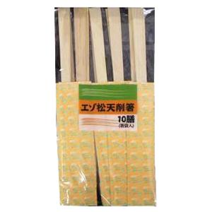 コーナン オリジナル エゾ松天削箸 10膳 KHD05-3273