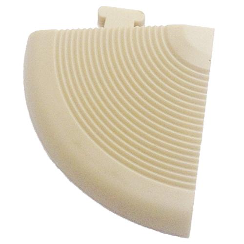 コーナン オリジナル サザンタイル用フロア材コーナー ホワイト C−W01