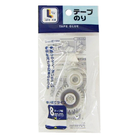 コーナン オリジナル テープのり 1P 8mm×8m使い切りタイプ
