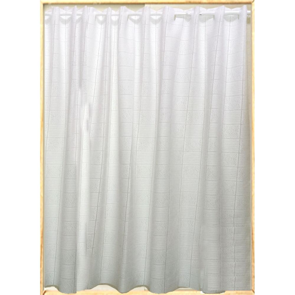 コーナン オリジナル フリーカットカーテン 約100×100cm ホワイト