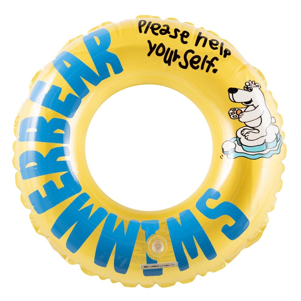 コーナン オリジナル リングフロート 浮輪 ベアー 70cm 内周サイズ90〜100cm 対象年齢6歳〜11歳
