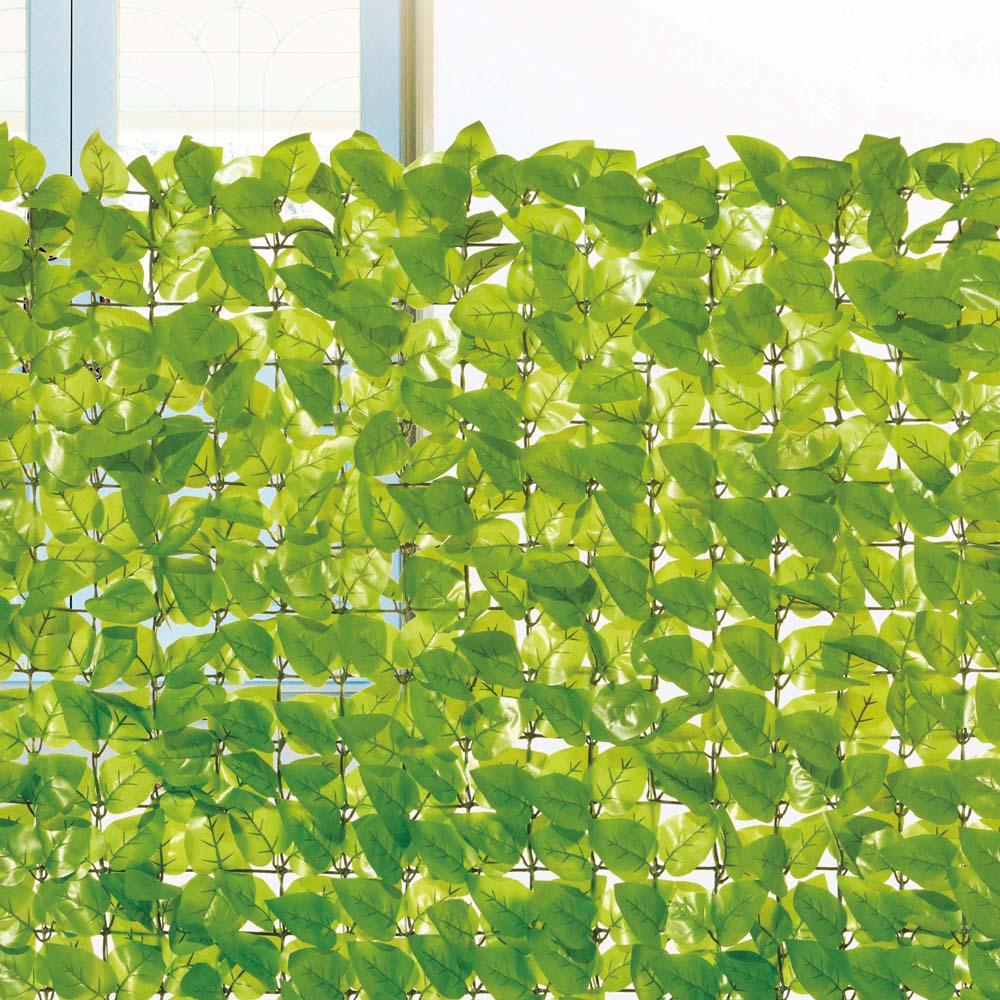 コーナン オリジナル 日よけ 目隠し ガーデンフェンス ライトグリーン 約100×100cm