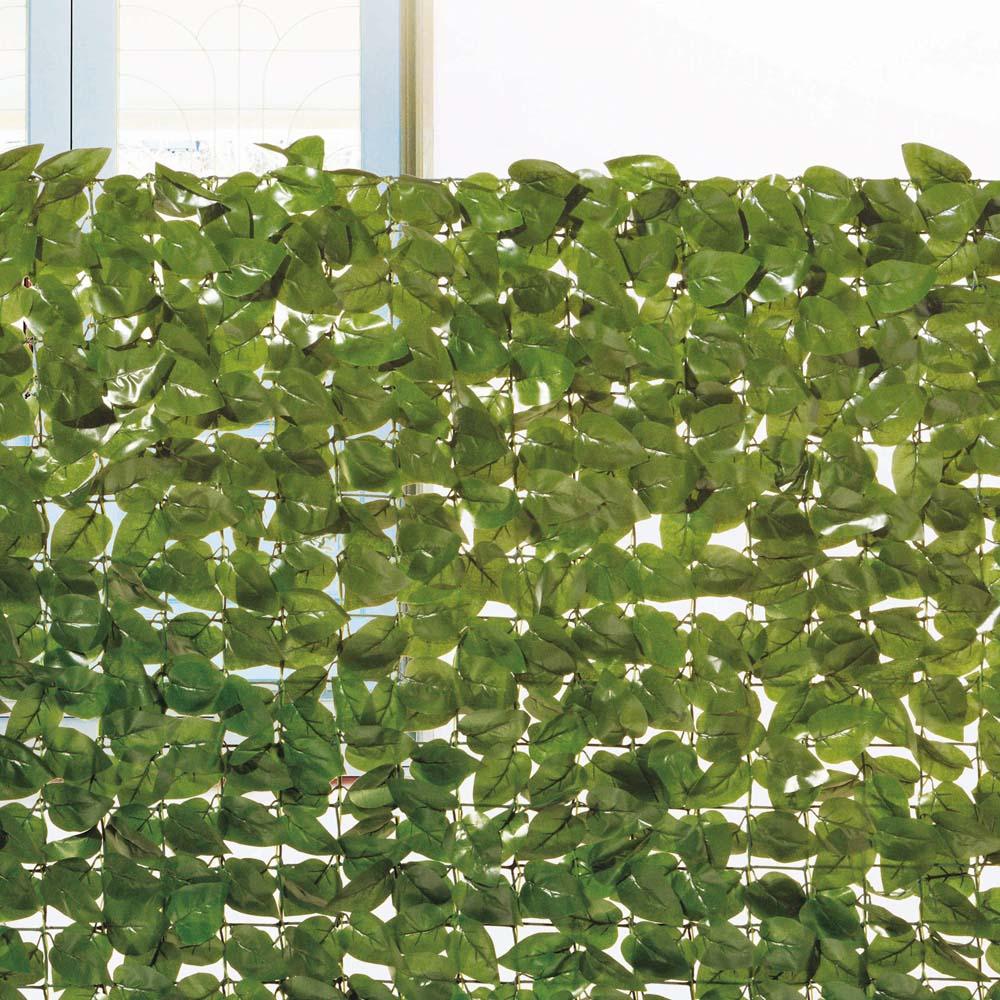 コーナン オリジナル 日よけ 目隠し ガーデンフェンス ダークグリーン 約200×100cm