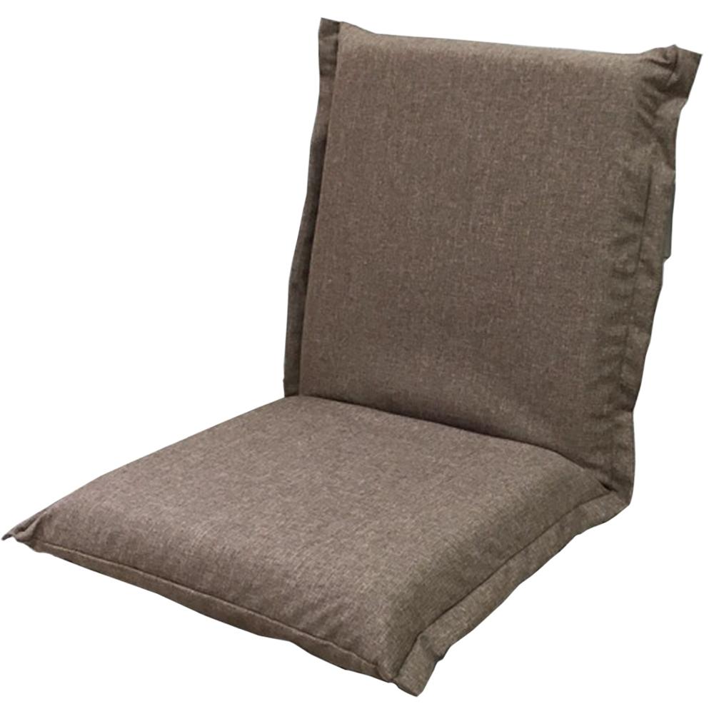 コーナン オリジナル 洗えるカバーリング座椅子 ブラウン