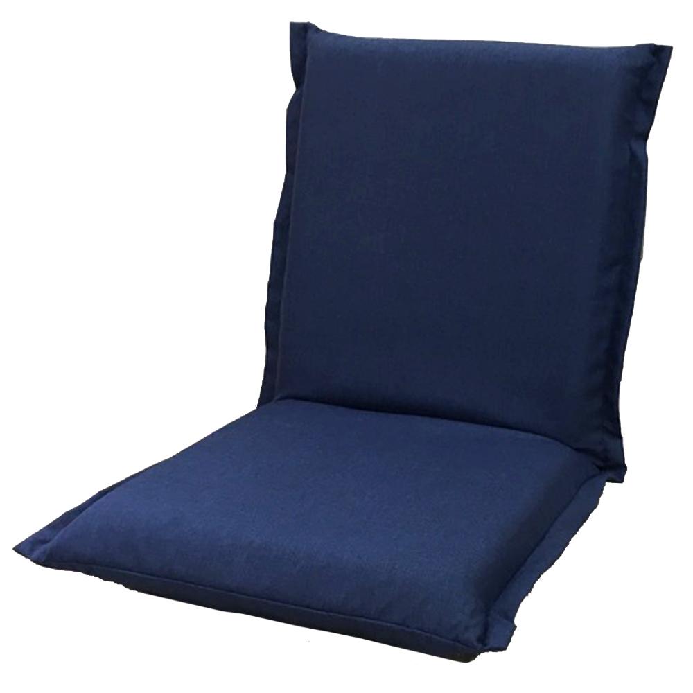 コーナン オリジナル 洗えるカバーリング座椅子 ネイビー