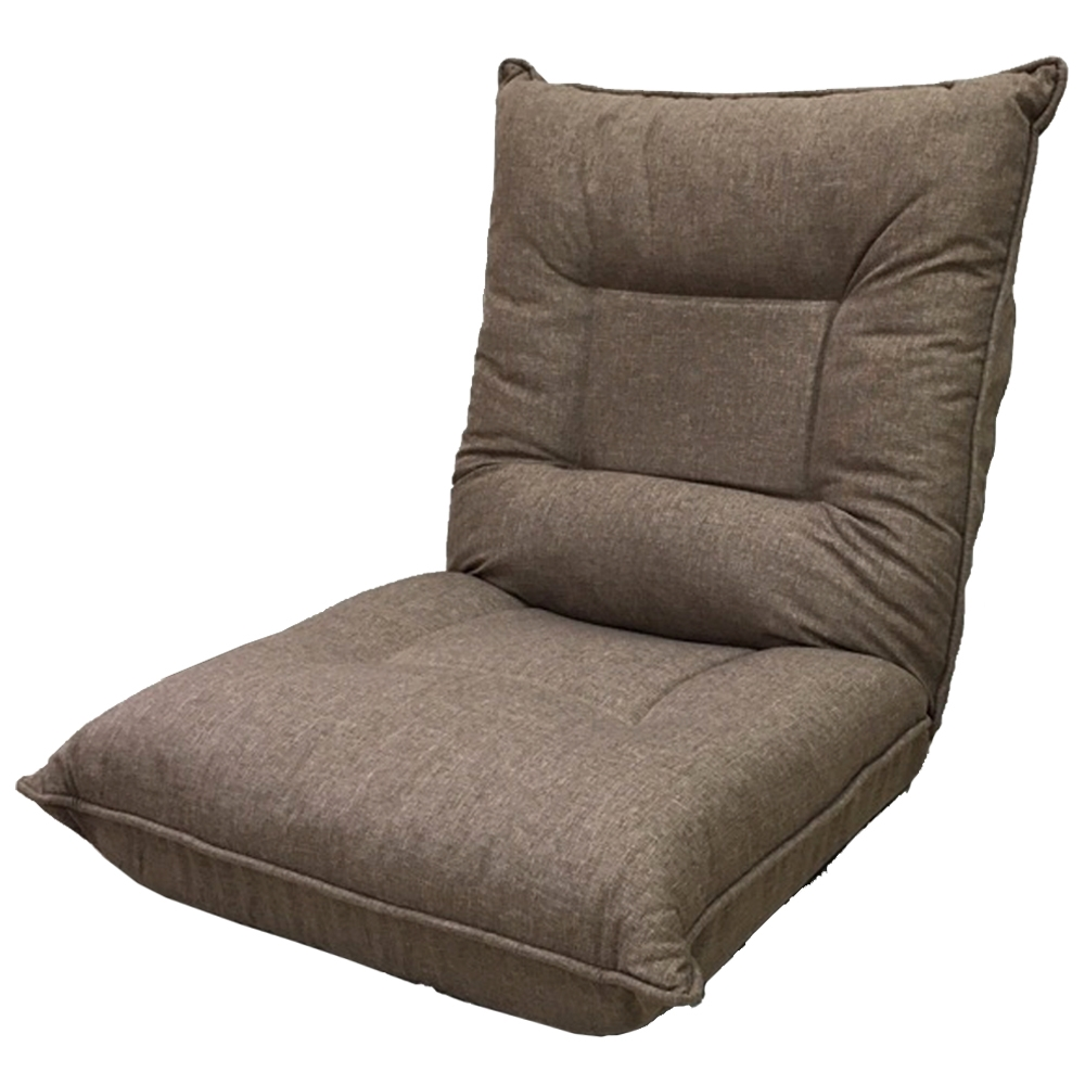 コーナン オリジナル ゆったりバケット座椅子 ブラウン