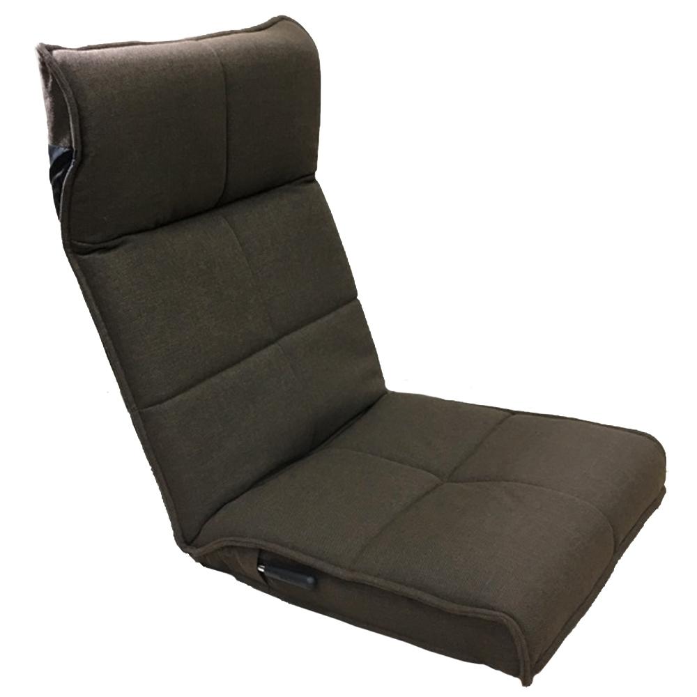 コーナン オリジナル ヘッドサポートレバー式座椅子 DBR