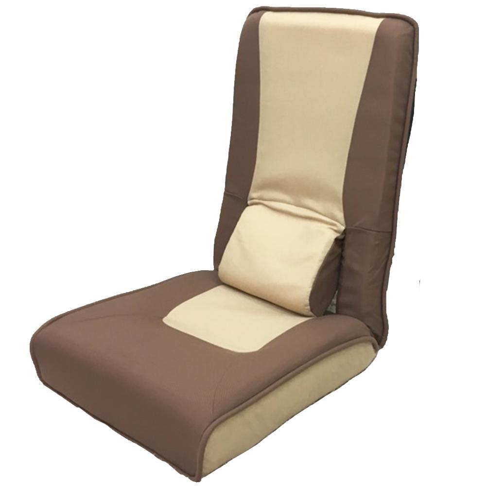 コーナン オリジナル ハイバック腰楽座椅子ブラウン KMI06−8946