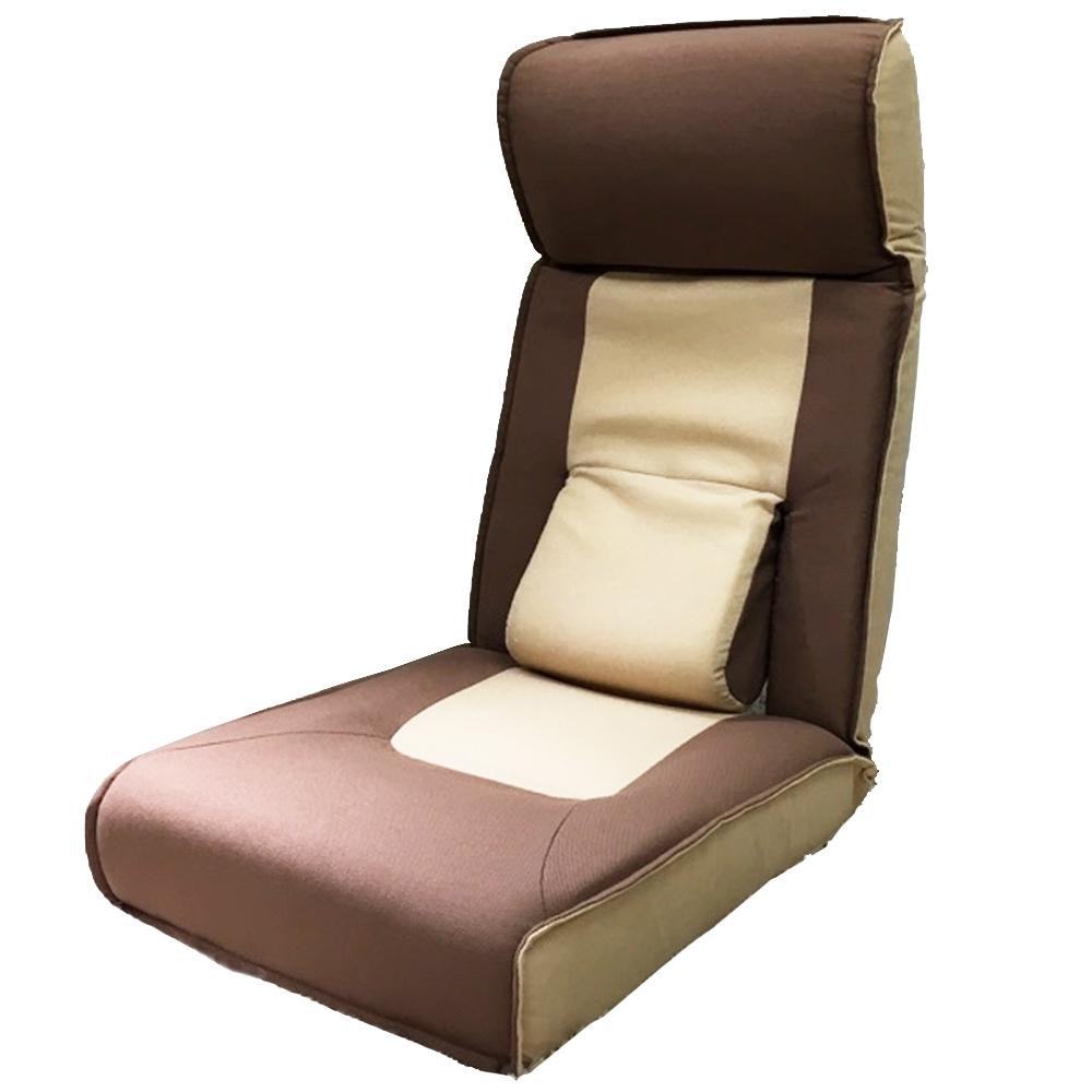 コーナン オリジナル TVが見やすい腰楽座椅子 ブラウン