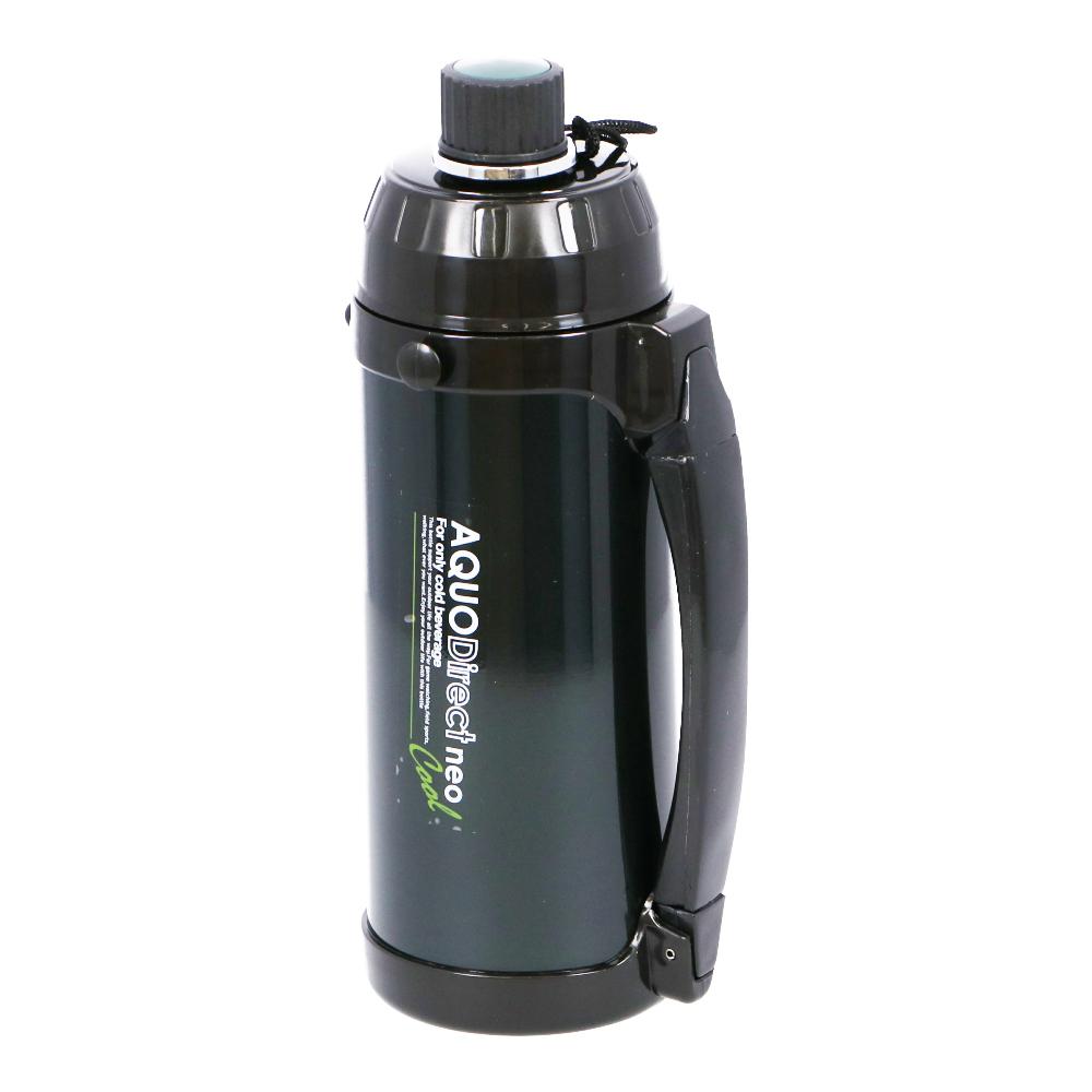 コーナン オリジナル ステンレスボトル アクオダイレクトネオ 1L グリーン KHM05−8214