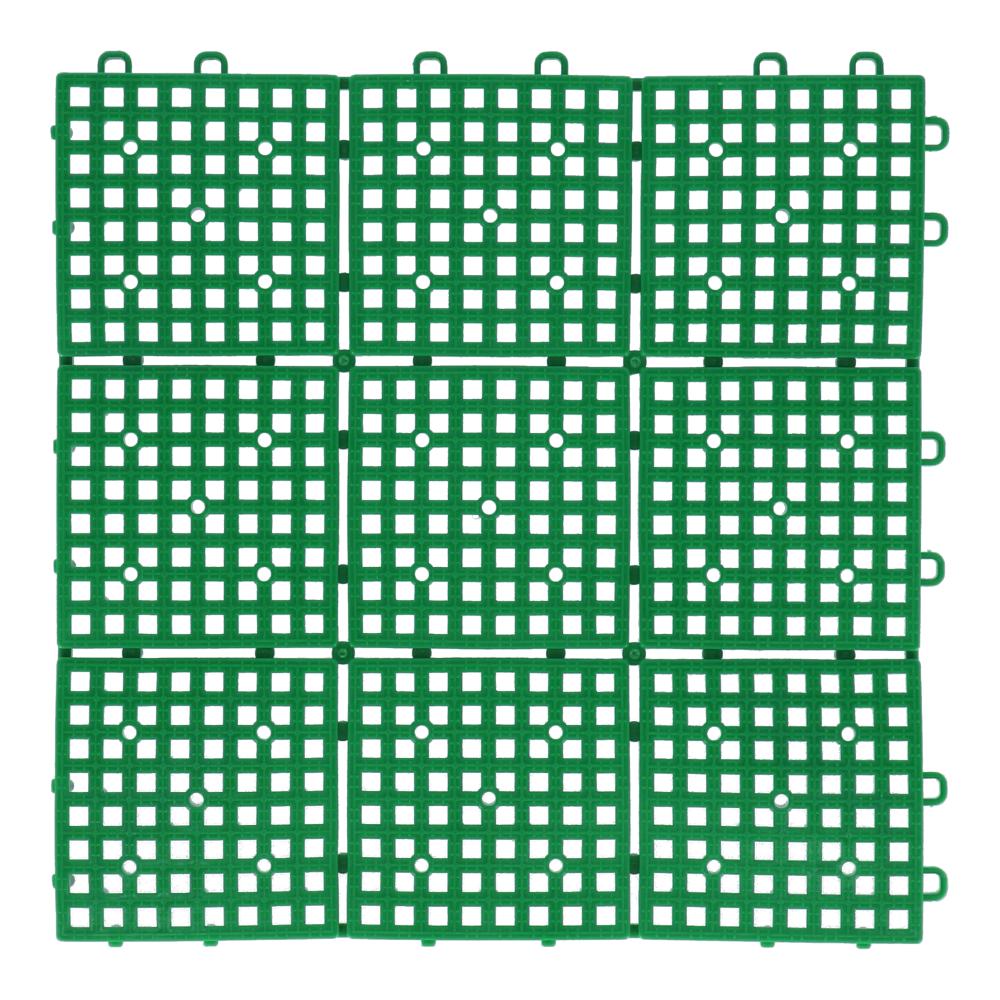 パッチングデッキ 約30×30cm グリーン