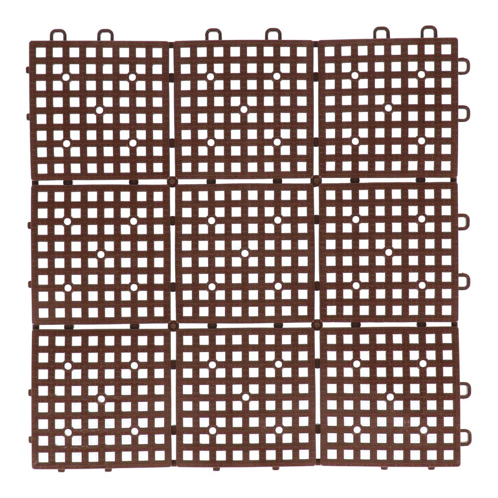 パッチングデッキ 約30×30cm ブラウン