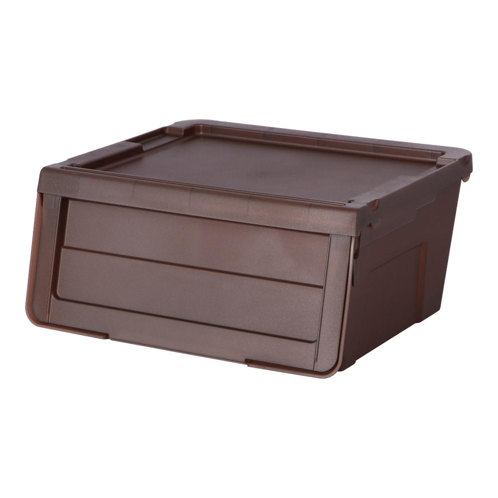 コーナン オリジナル LIFELEX スライドボックス S ブラウン BR−KMT18−3977