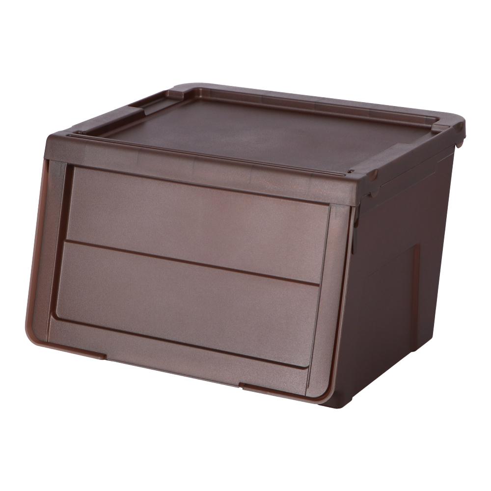 コーナン オリジナル LIFELEX スライドボックス M ブラウン BR−KMT18−8148