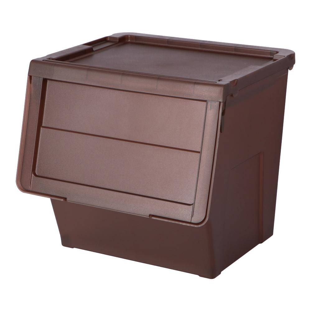 コーナン オリジナル LIFELEX スライドボックス L ブラウン BR−KMT18−8162