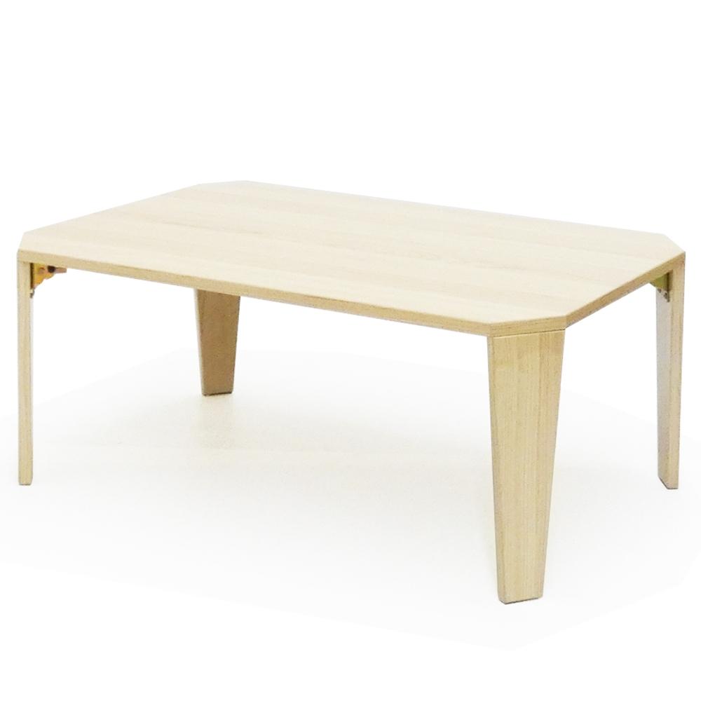 コーナン オリジナル 鏡面ローテーブル OAK−KMT18−0445
