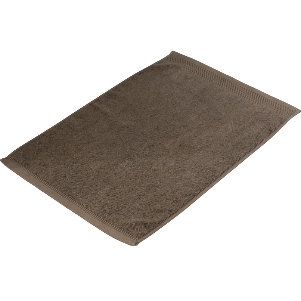 コーナン オリジナル タオルバスマット ブラウン 約40×60cm