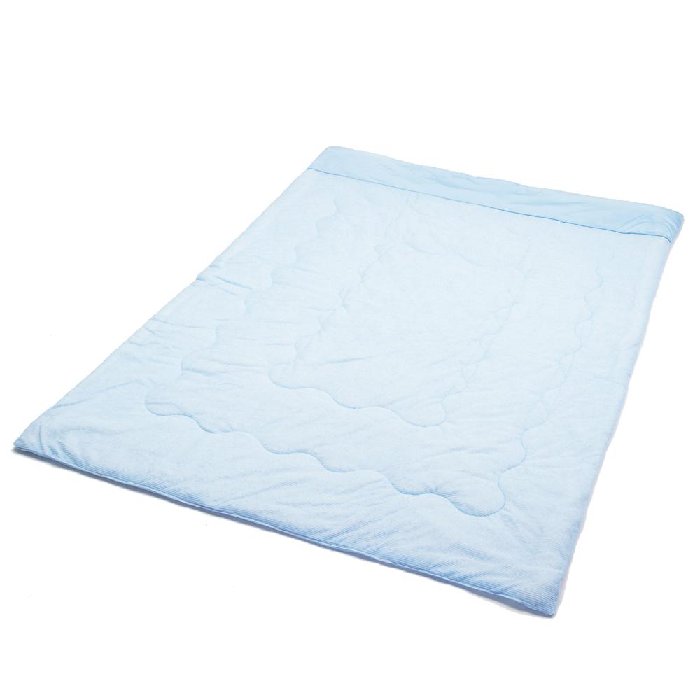 コーナン オリジナル ひんやり肌布団 約180×190cm ブルー