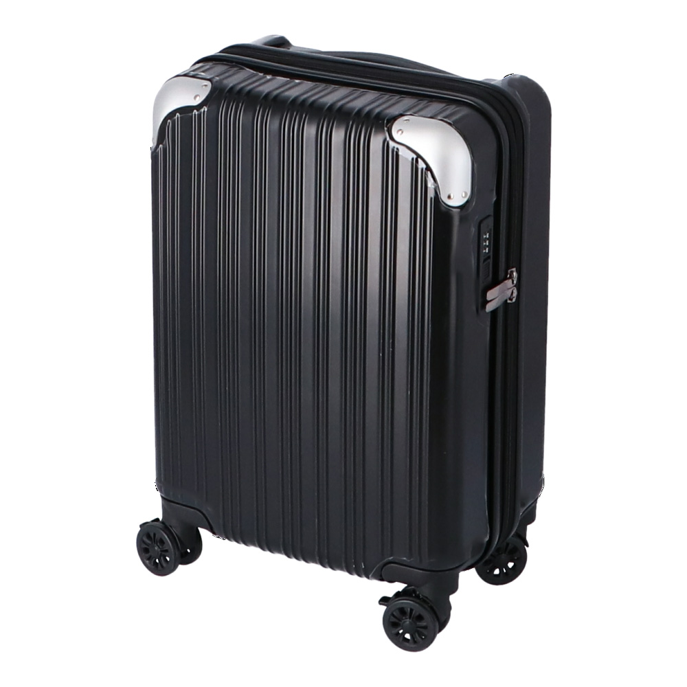 コーナン オリジナル 拡張式スーツケース ブラック KWH14−0323−BK