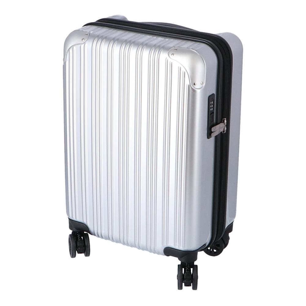 コーナン オリジナル 拡張式スーツケース シルバー KWH14−0330−SV