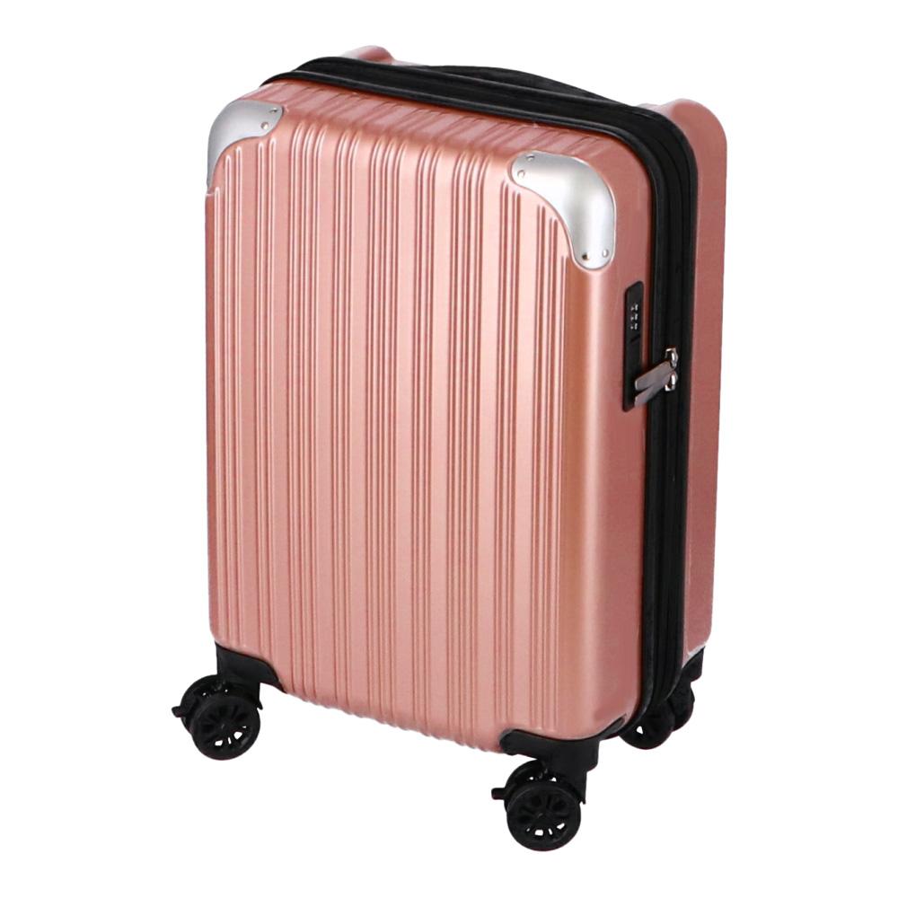 コーナン オリジナル 拡張式スーツケース ピンク KWH14−0347−PK