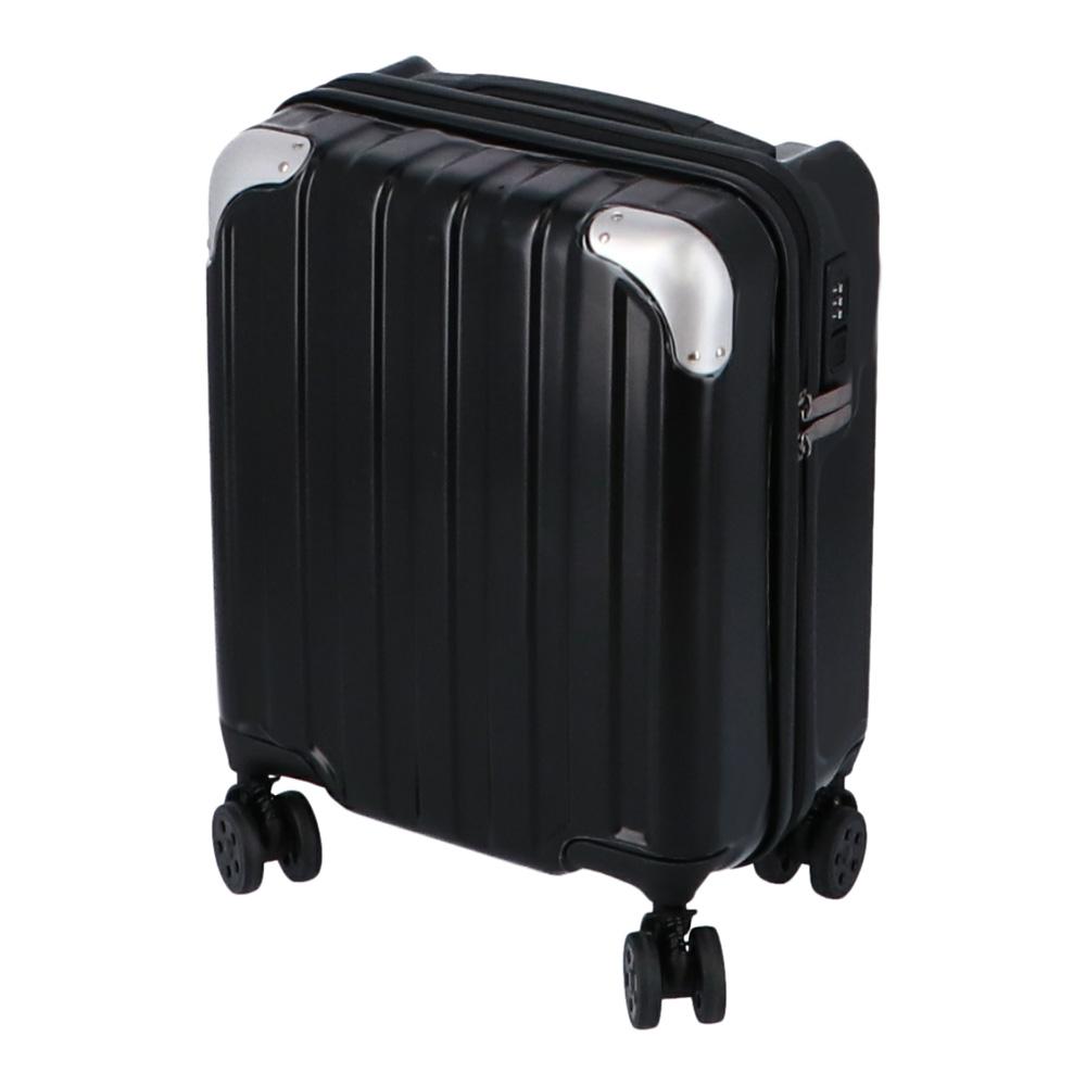 コーナン オリジナル 小型スーツケース ブラック KWH14−0354−BK