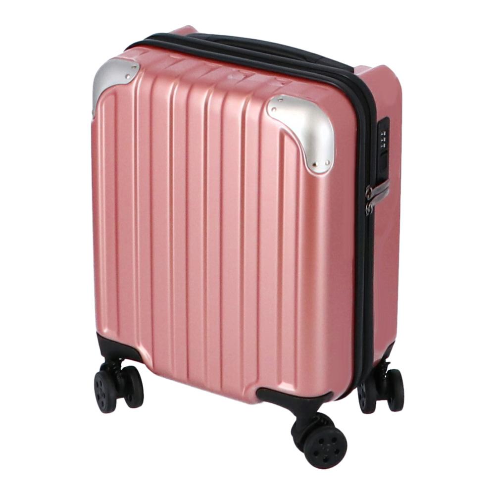 コーナン オリジナル 小型スーツケース ピンク KWH14−0378−PK