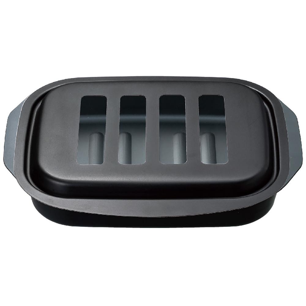 コーナン オリジナル LIFELEX  グリルプレート フタ付 KHK05-7612