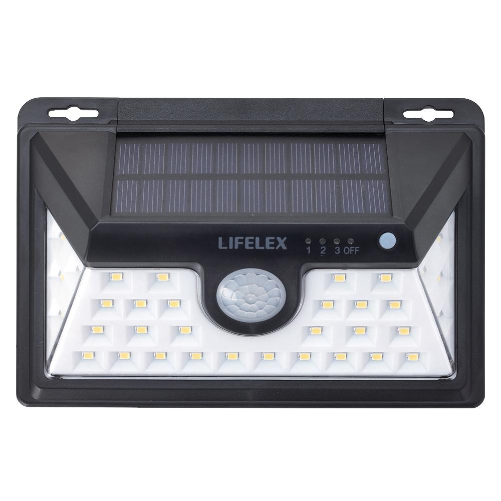 コーナン オリジナル LIFELEX マグネットで取り付けられるソーラーウォールライトW KSWL10−0505