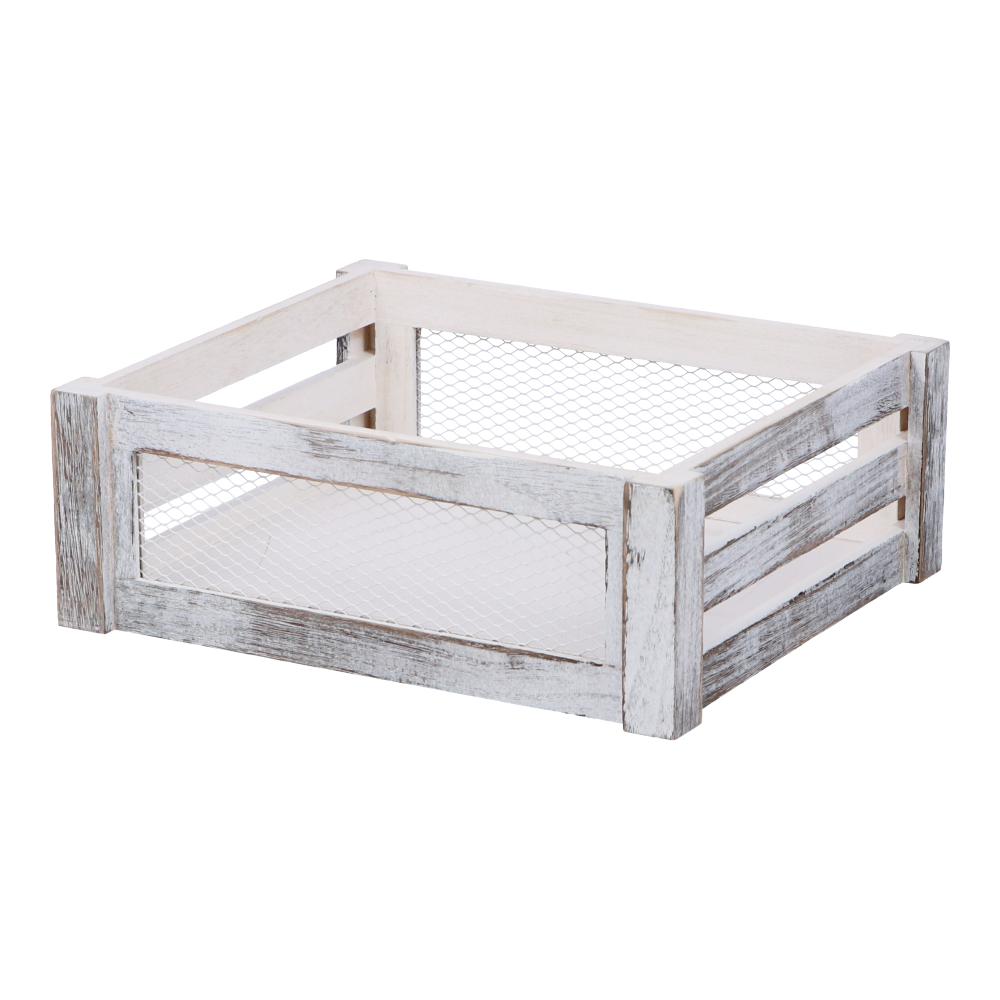 コーナン オリジナル LIFELEX 木製マルチボックス M ホワイト