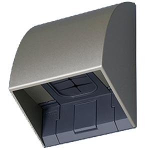 パナソニック(Panasonic) 防雨入線カバー(露出・埋込両用)シャンパンブロンズ WP9131Q