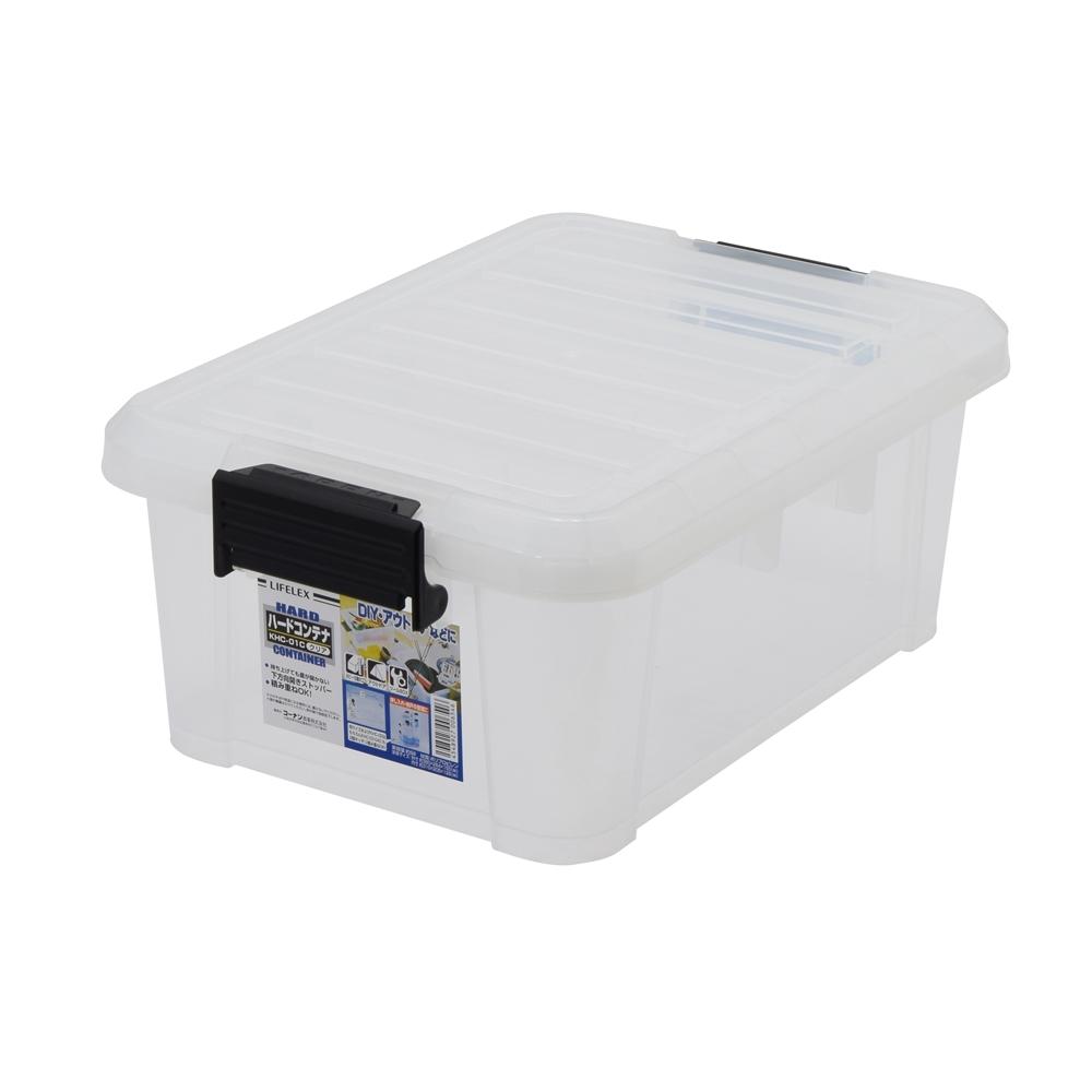 ○コーナン オリジナル LIFELEX ハードコンテナ KHC−01 クリア