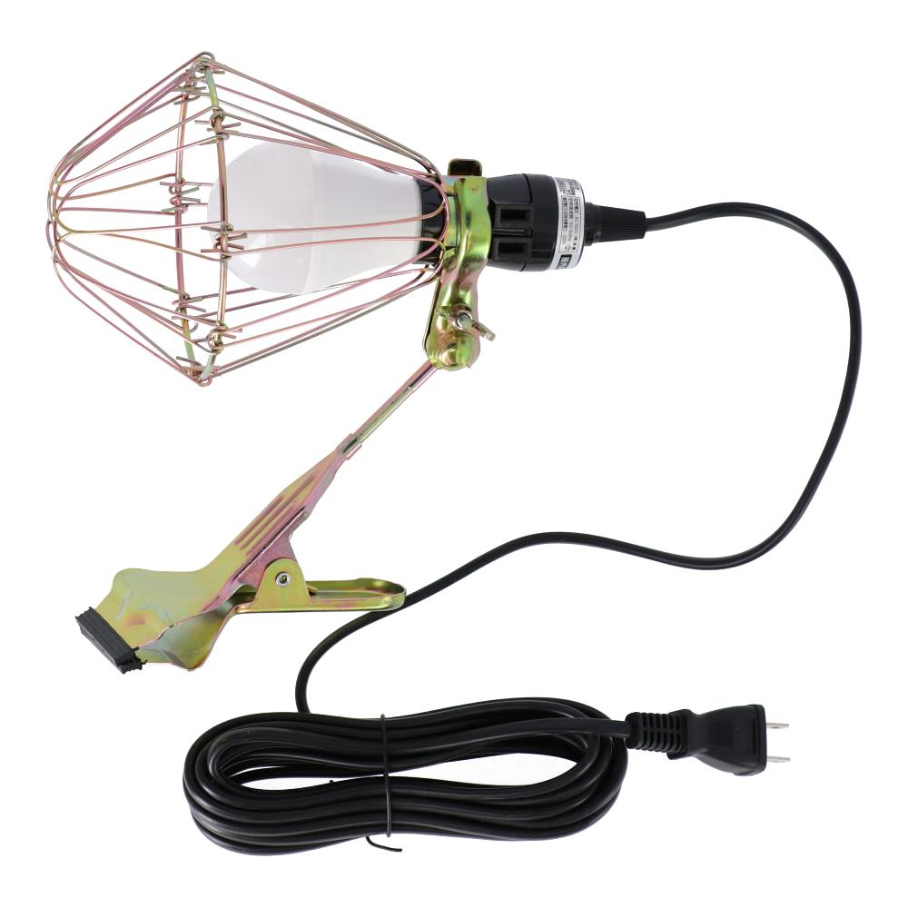 LEDクリップライト 7W 連結コンセント付き