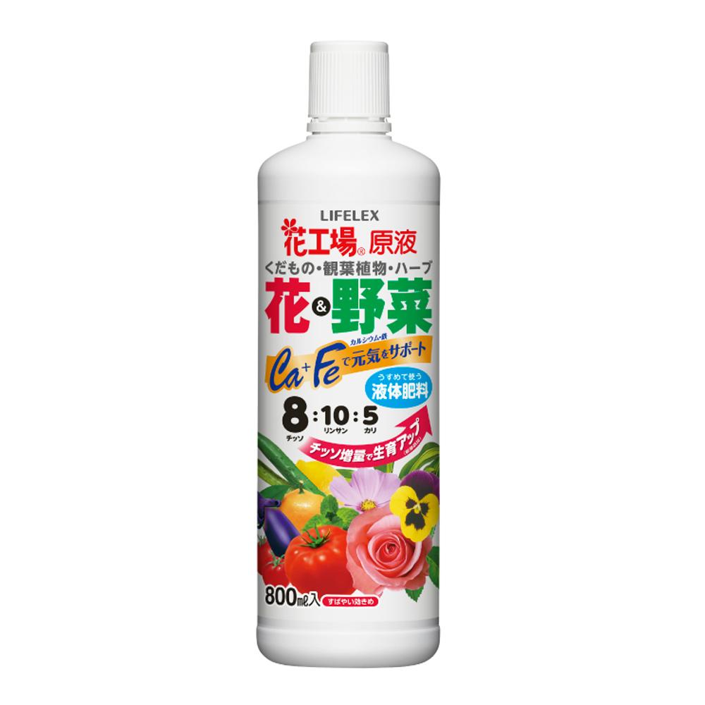 コーナン オリジナル LIFELEX 花と野菜の液体肥料原液 800ml