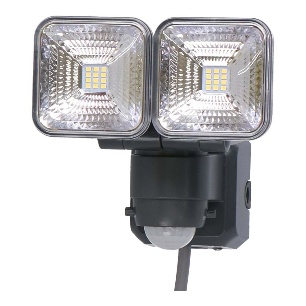 コーナン オリジナル LIFELEX 7.5Wコンセント式センサーライト2灯タイプ LSL10−9998 AC