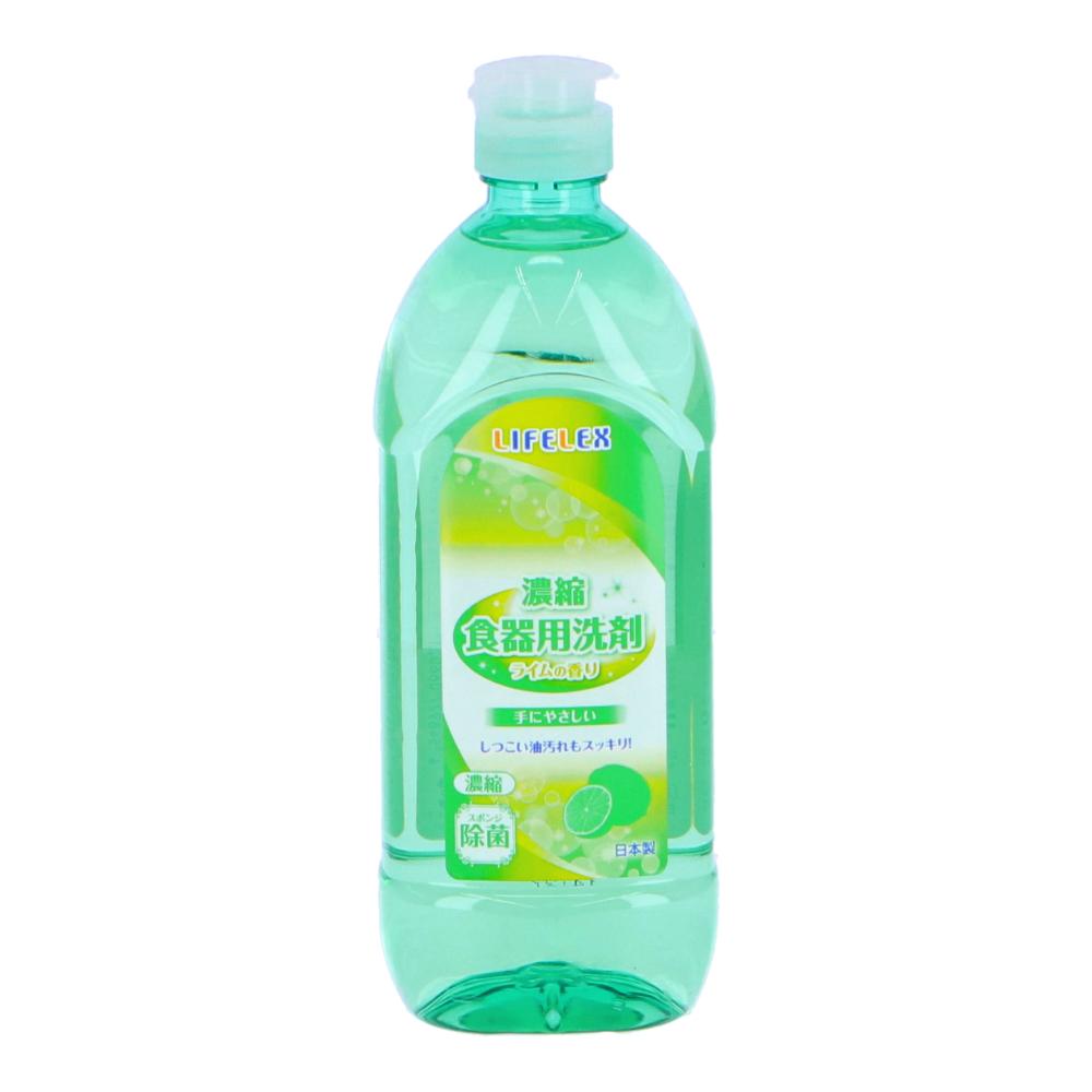 ○濃縮食器用洗剤 ライムの香り 450ml