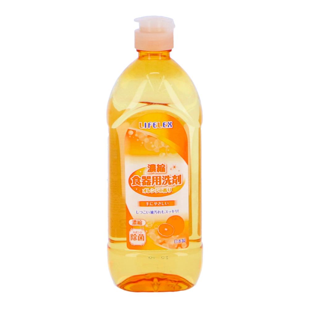 ○濃縮食器用洗剤 オレンジの香り 450ml