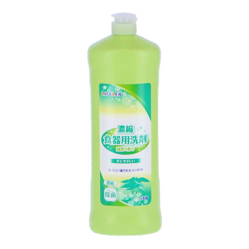 ○濃縮食器用洗剤 緑茶の香り 800ml