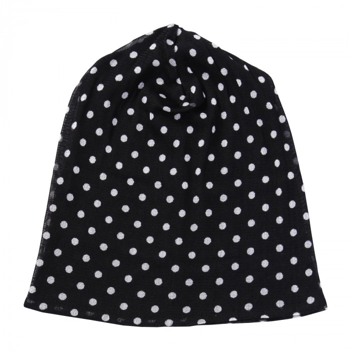 シルクの帽子(ドット柄) 0390032