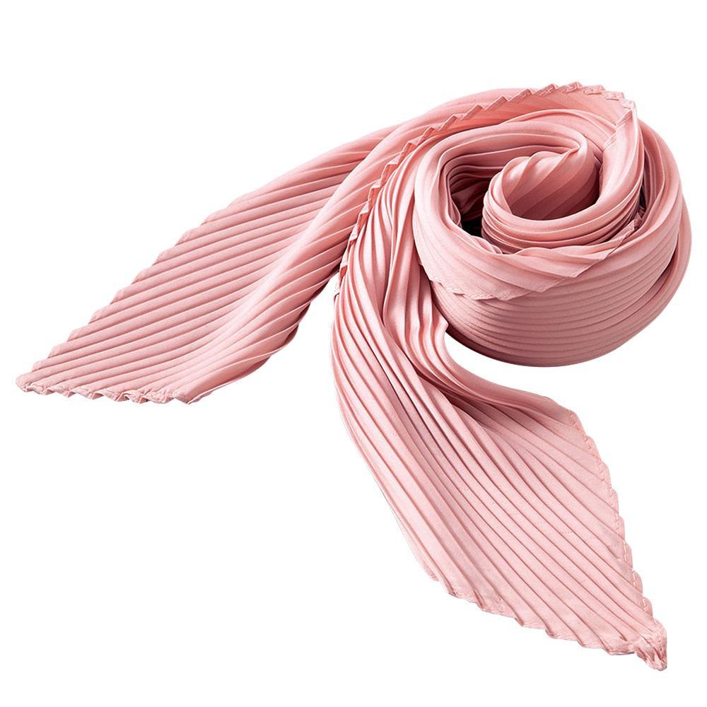 プリーツスカーフ(ピンク) 0390048