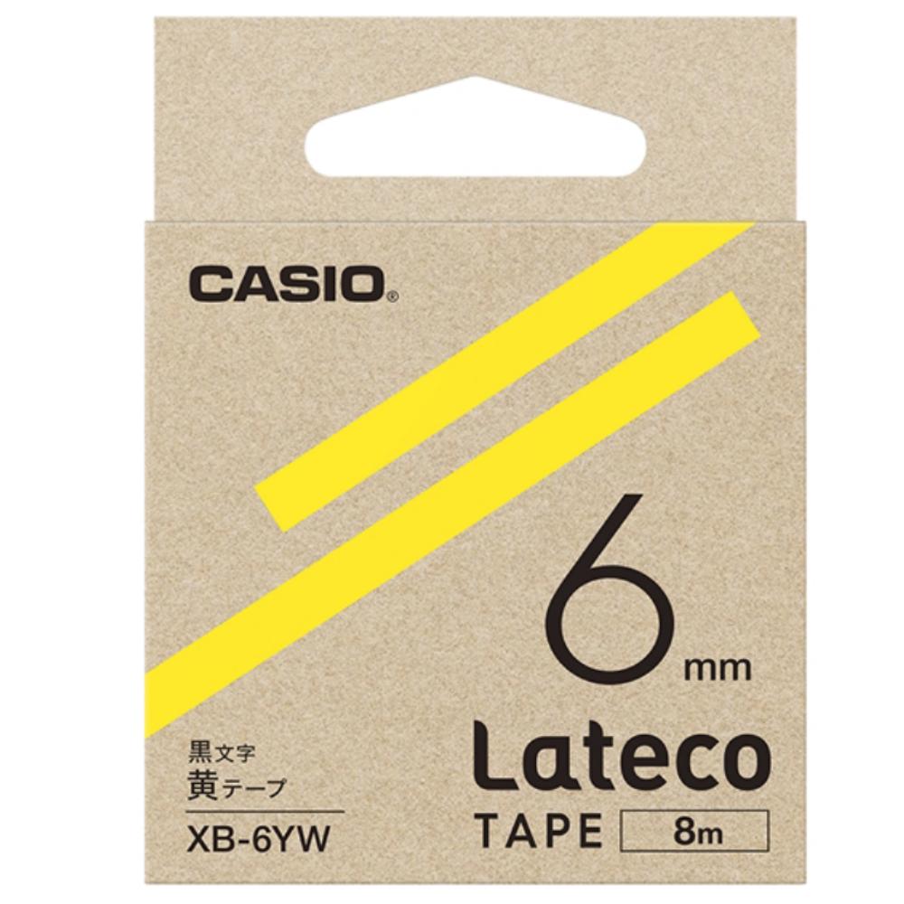 ラテコテープ XB−6YW イエロー