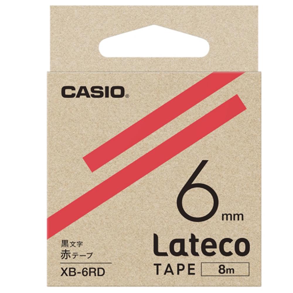 ラテコテープ XB−6RD レッド