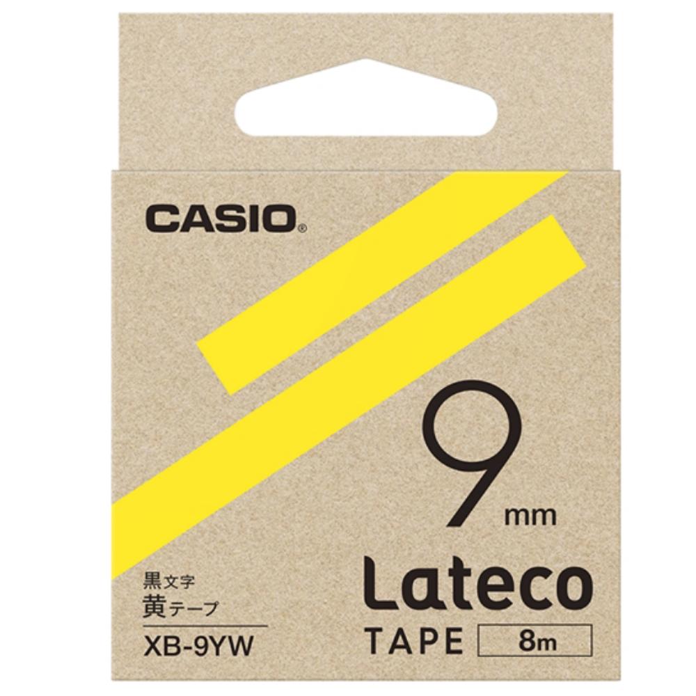 ラテコテープ XB−9YW イエロー