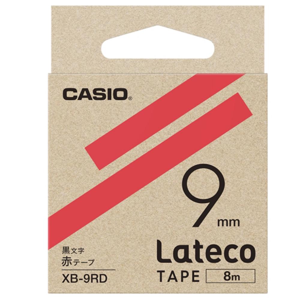 ラテコテープ XB−9RD レッド