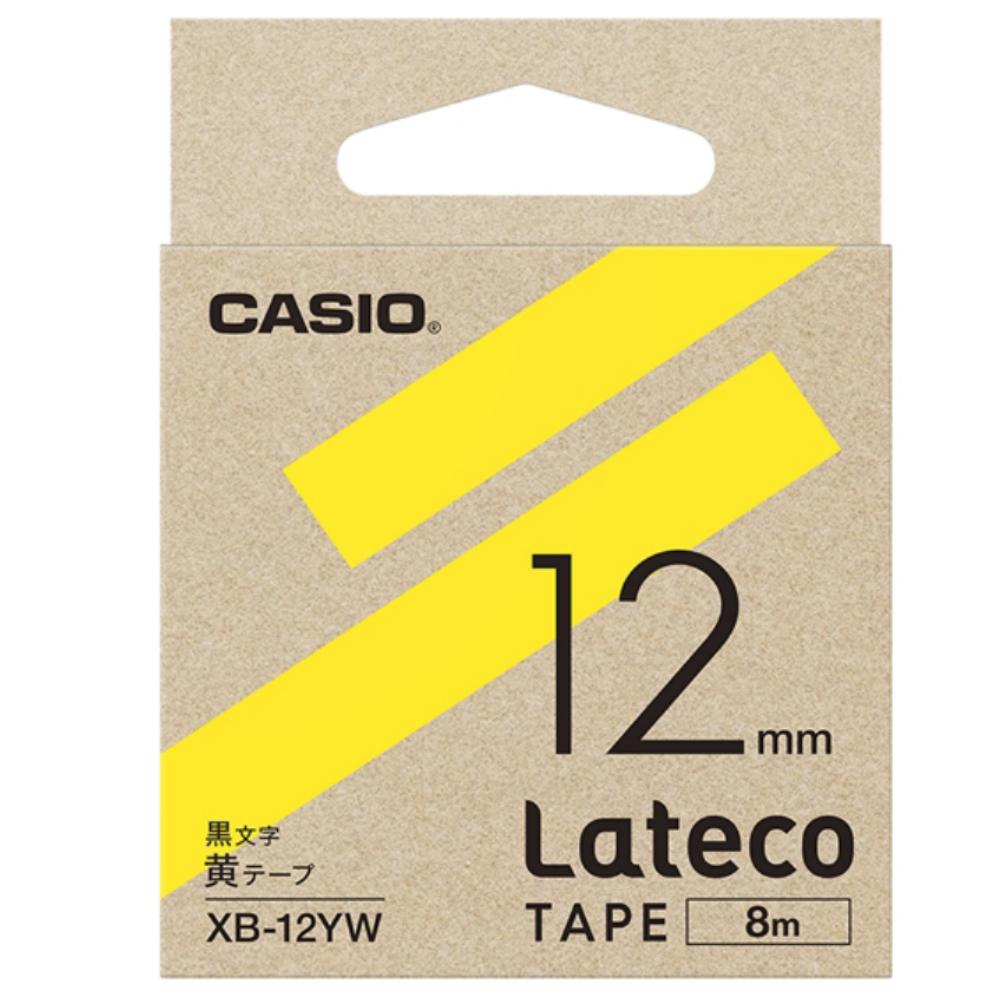 ラテコテープ XB−12YW イエロー