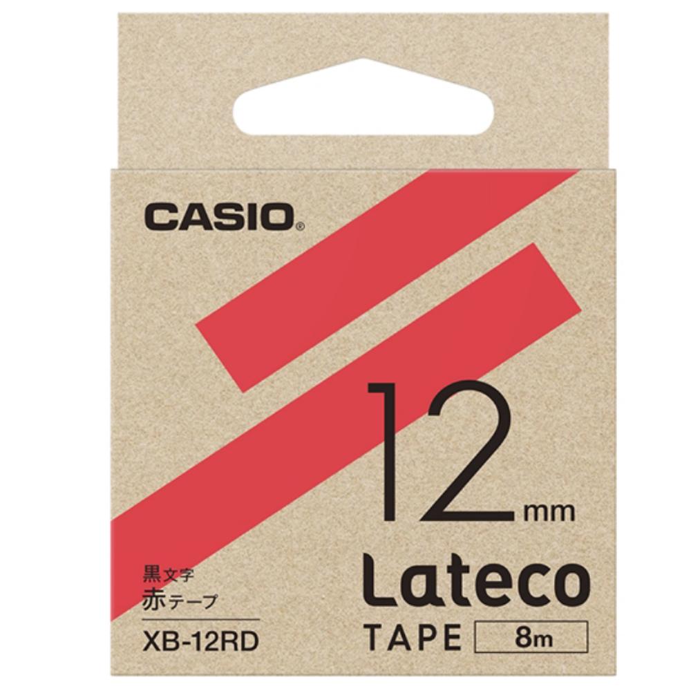ラテコテープ XB−12RD レッド